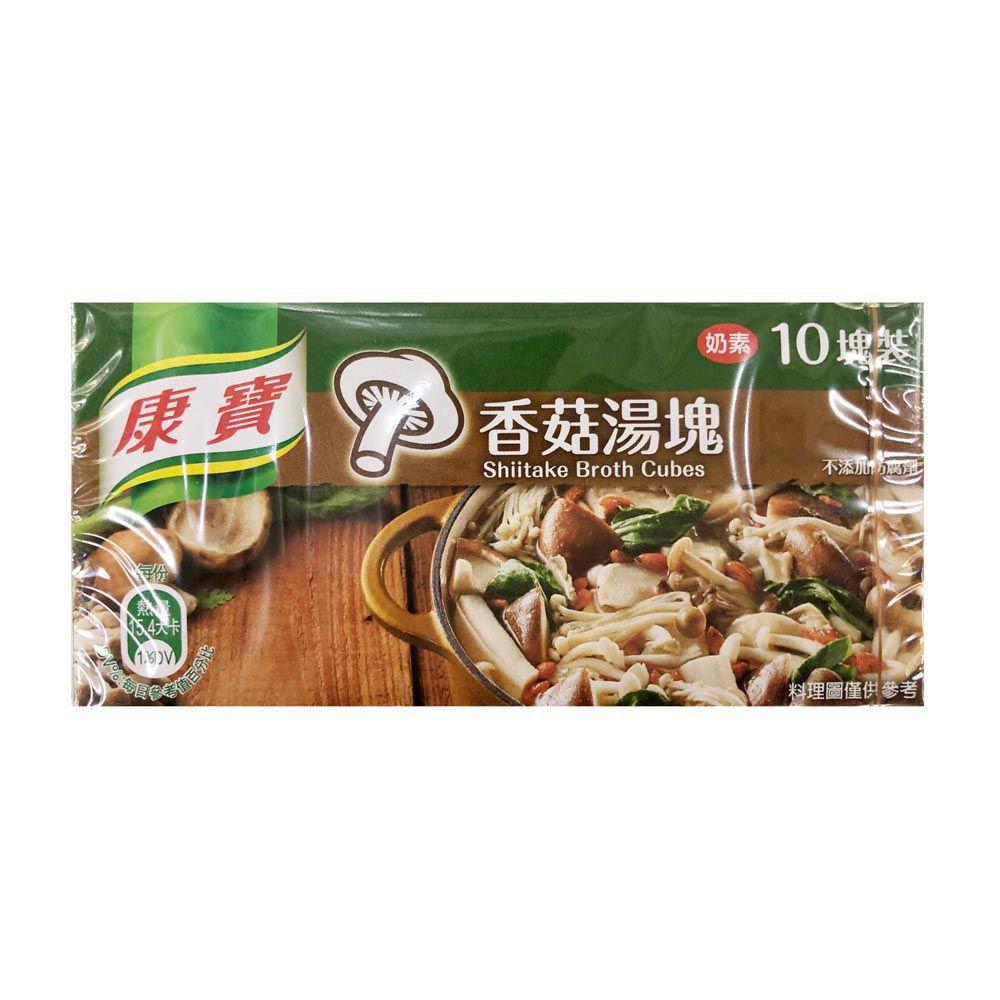 (康寶)香菇湯塊/10入100g(奶素)