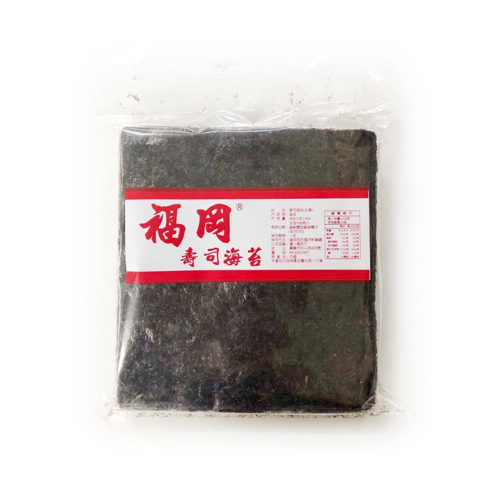 (蒲川)福岡壽司海苔全型100枚290g