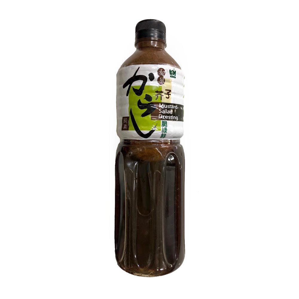 (穀盛)和風芥子脆綠鮮1000ml(全素)
