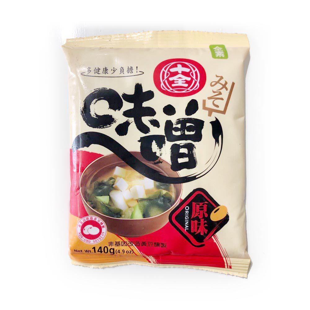 (十全)原味味噌包140g(全素)