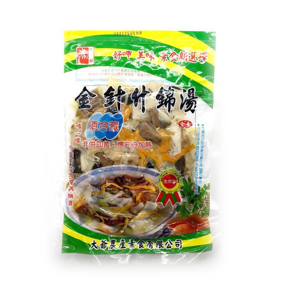 (台康)金針什錦湯150g(全素)