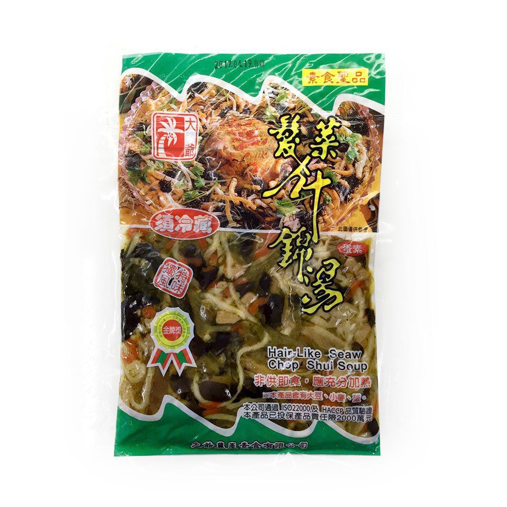(台康)髮菜什錦湯150g(蛋素)