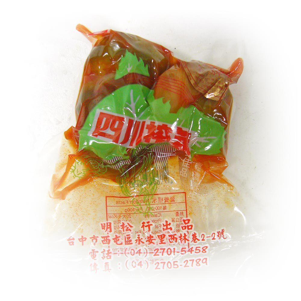 (明松)榨菜粒250g(全素)
