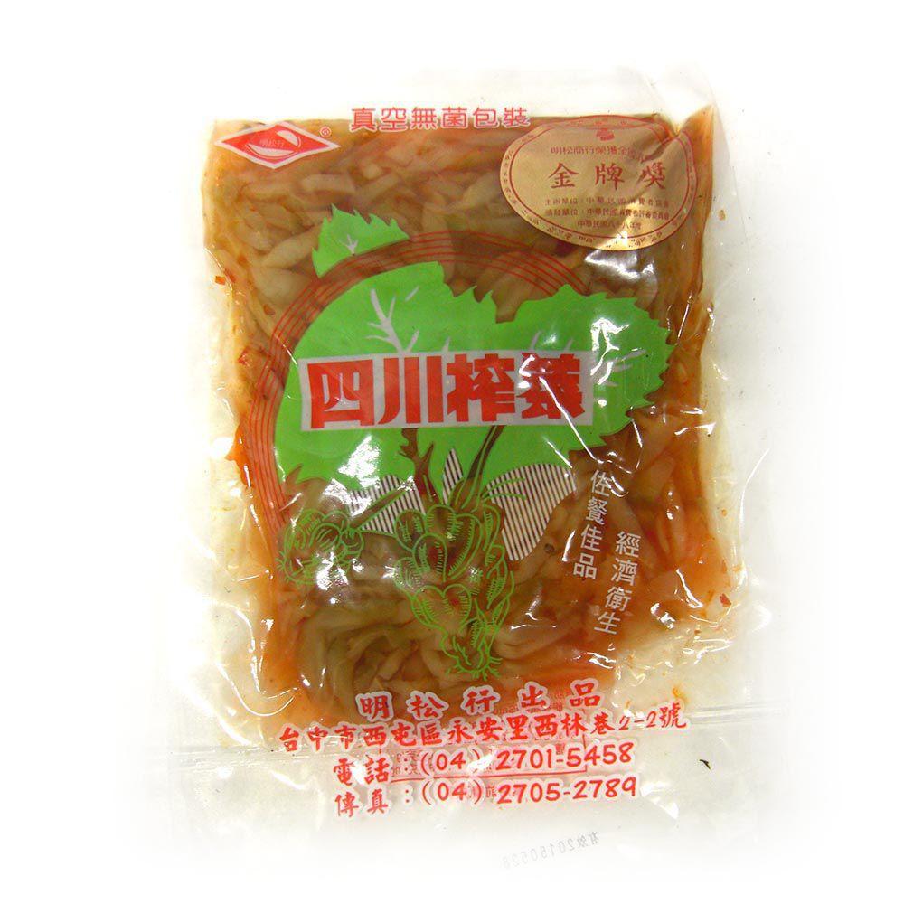 (明松)榨菜絲250g(全素)