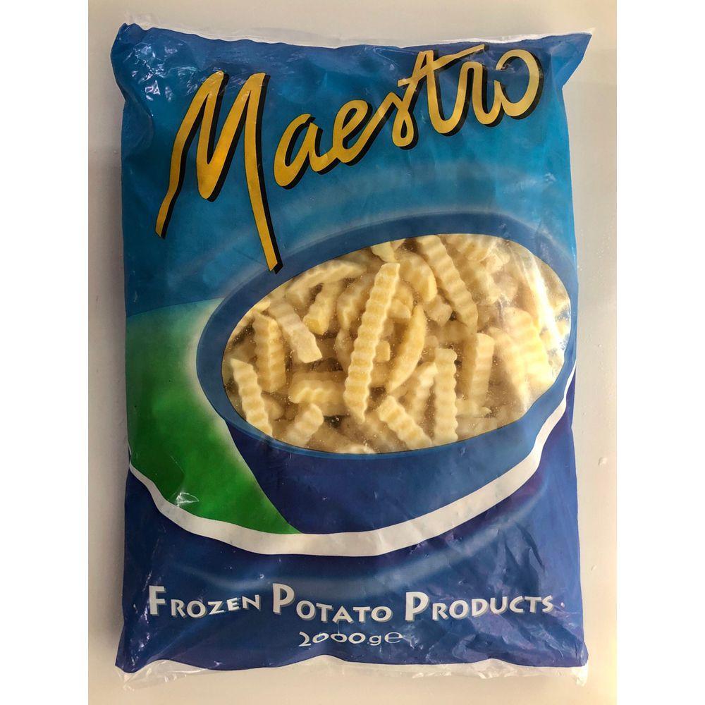 (中歆)波浪薯條2kg(全素)