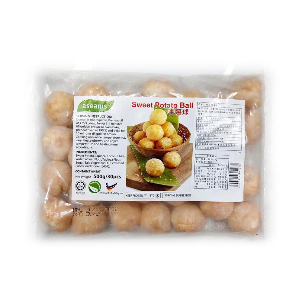 (樂達)甜薯球/30入(全素)