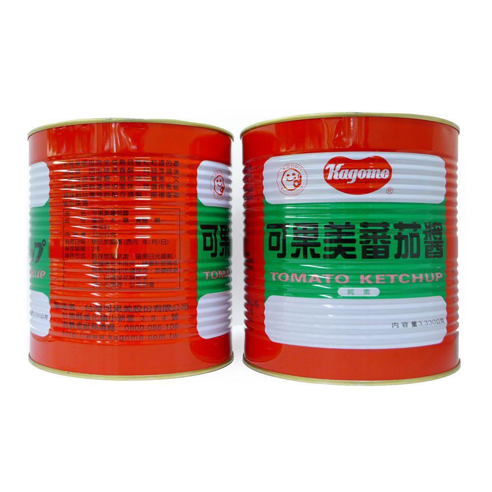 (可果美)蕃茄醬3300g(全素)