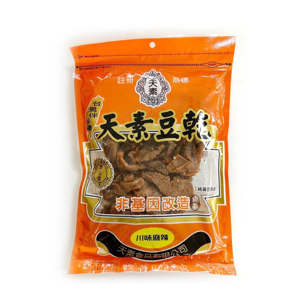 (天素)川味麻辣豆乾350g(全素)