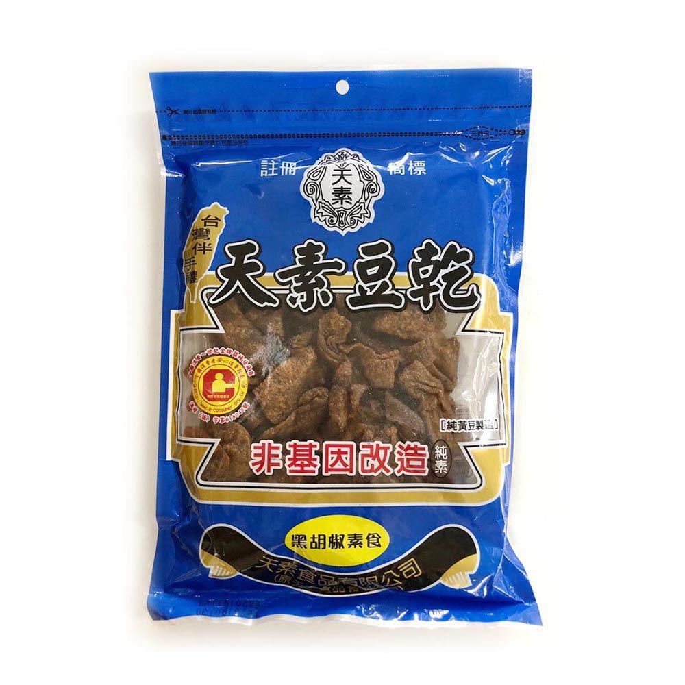 (天素)黑胡椒豆干350g(全素)