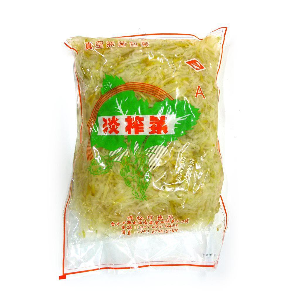 (明松)榨菜絲5斤(全素)