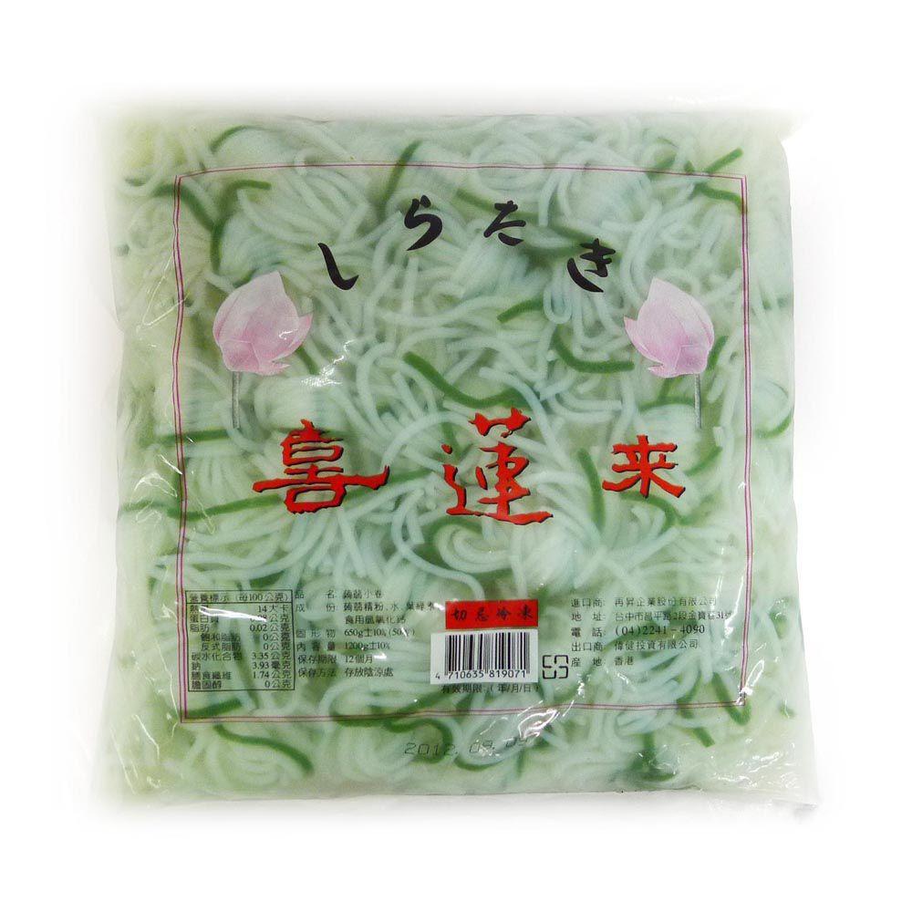 (再昇)喜蓮來蒟蒻小捲袋裝50入1.2kg