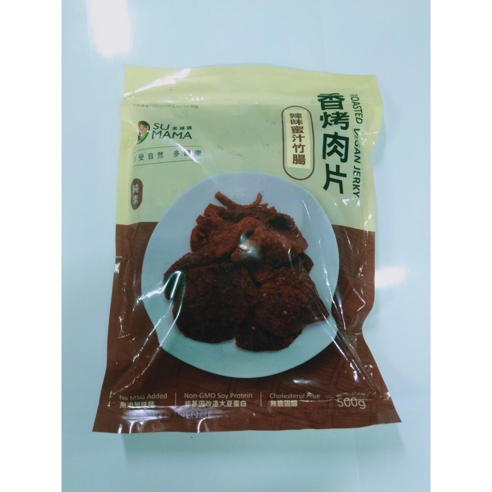(弘陽)辣味蜜汁竹腸500g(全素)
