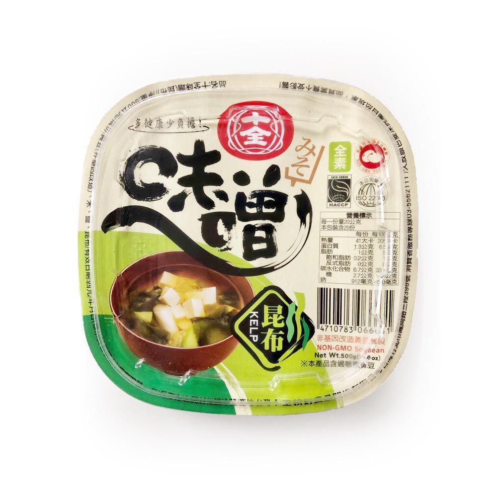 (十全)昆布味噌500g