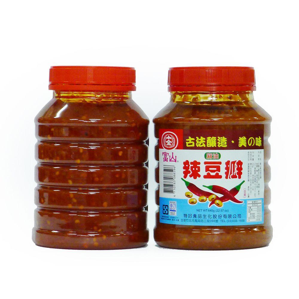 (十全)富山辣豆瓣640g(全素)
