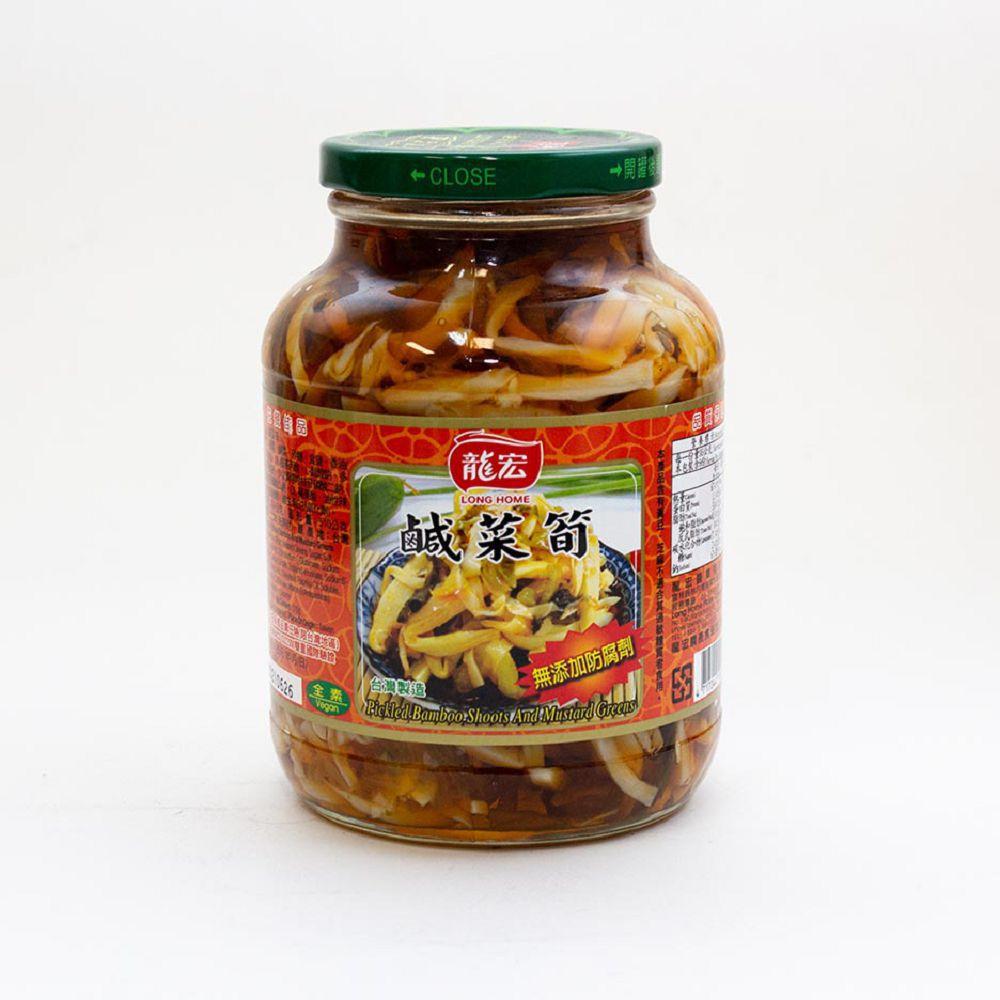 (龍宏)鹹菜筍760g(全素)