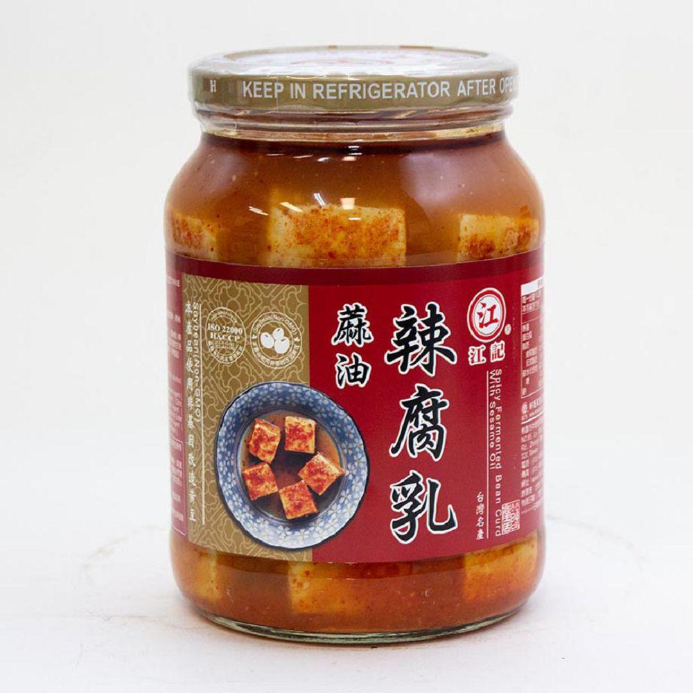(江記)麻油辣腐乳340g(全素)