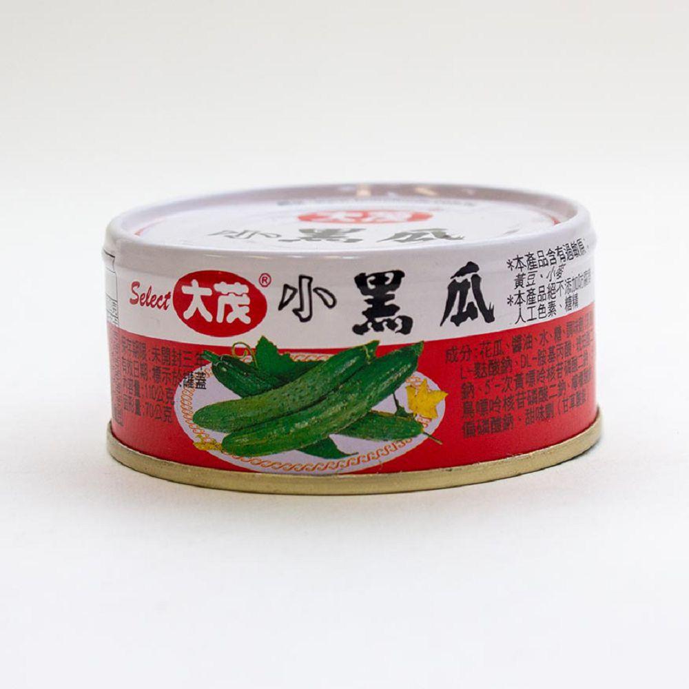 (大茂)小黑瓜易開罐110g(全素)