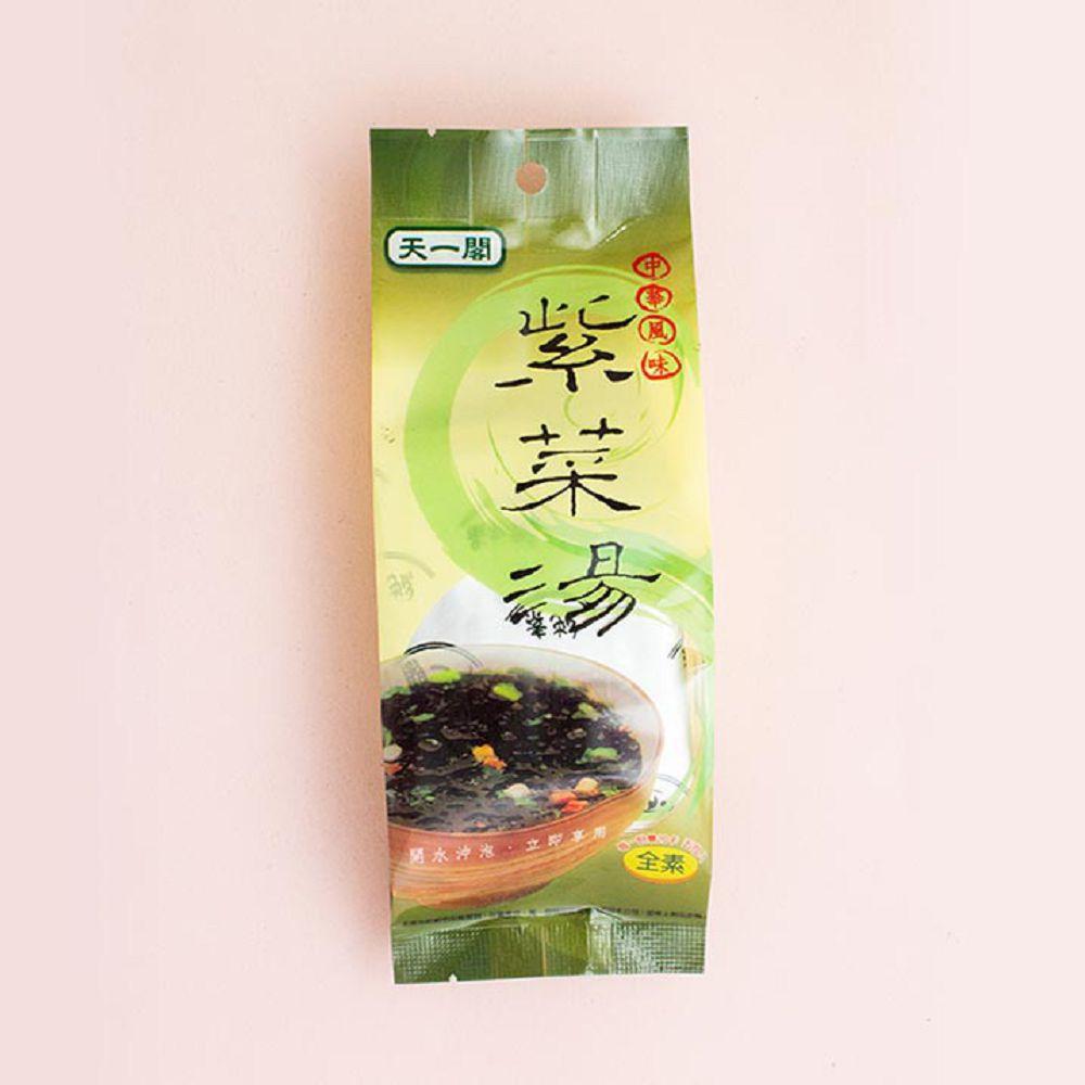 (合成)天一閣紫菜湯包/5入25g(全素)
