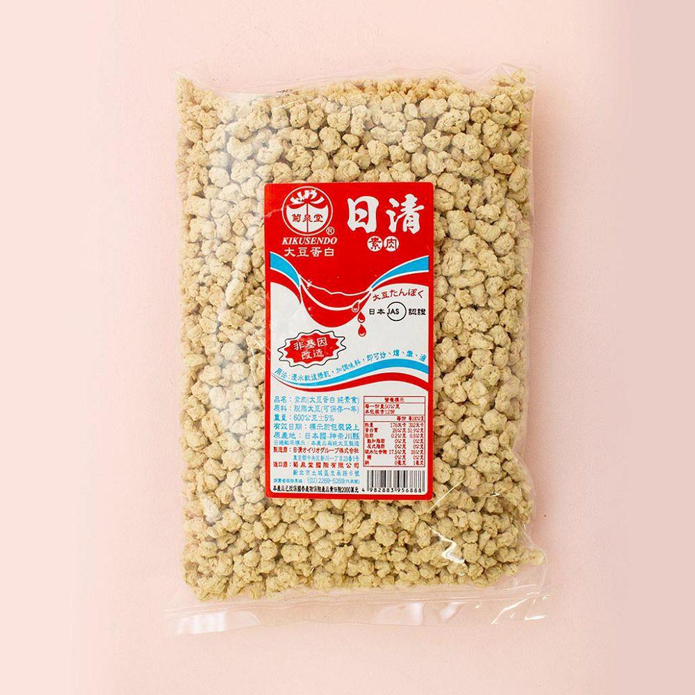 (日清)碎肉600g(全素)