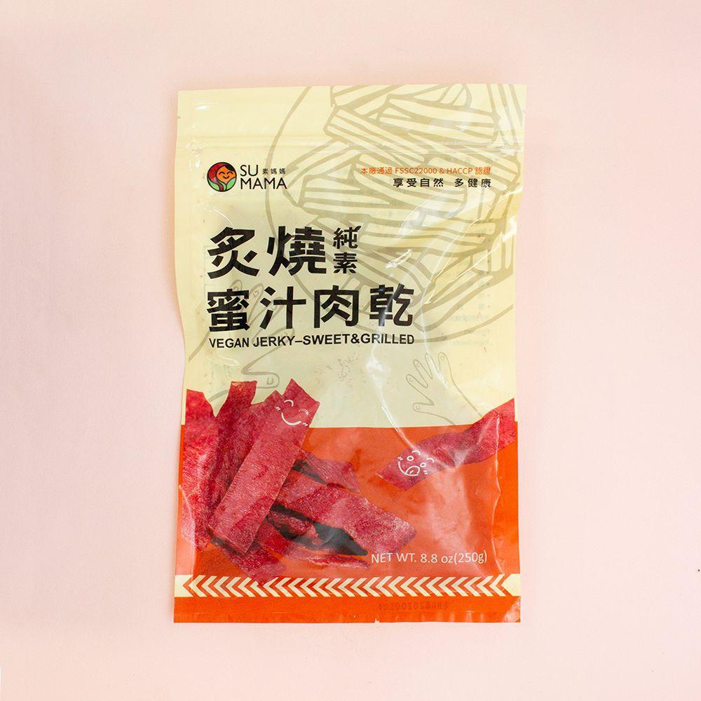 (弘陽)炙燒蜜汁肉乾250g(全素)