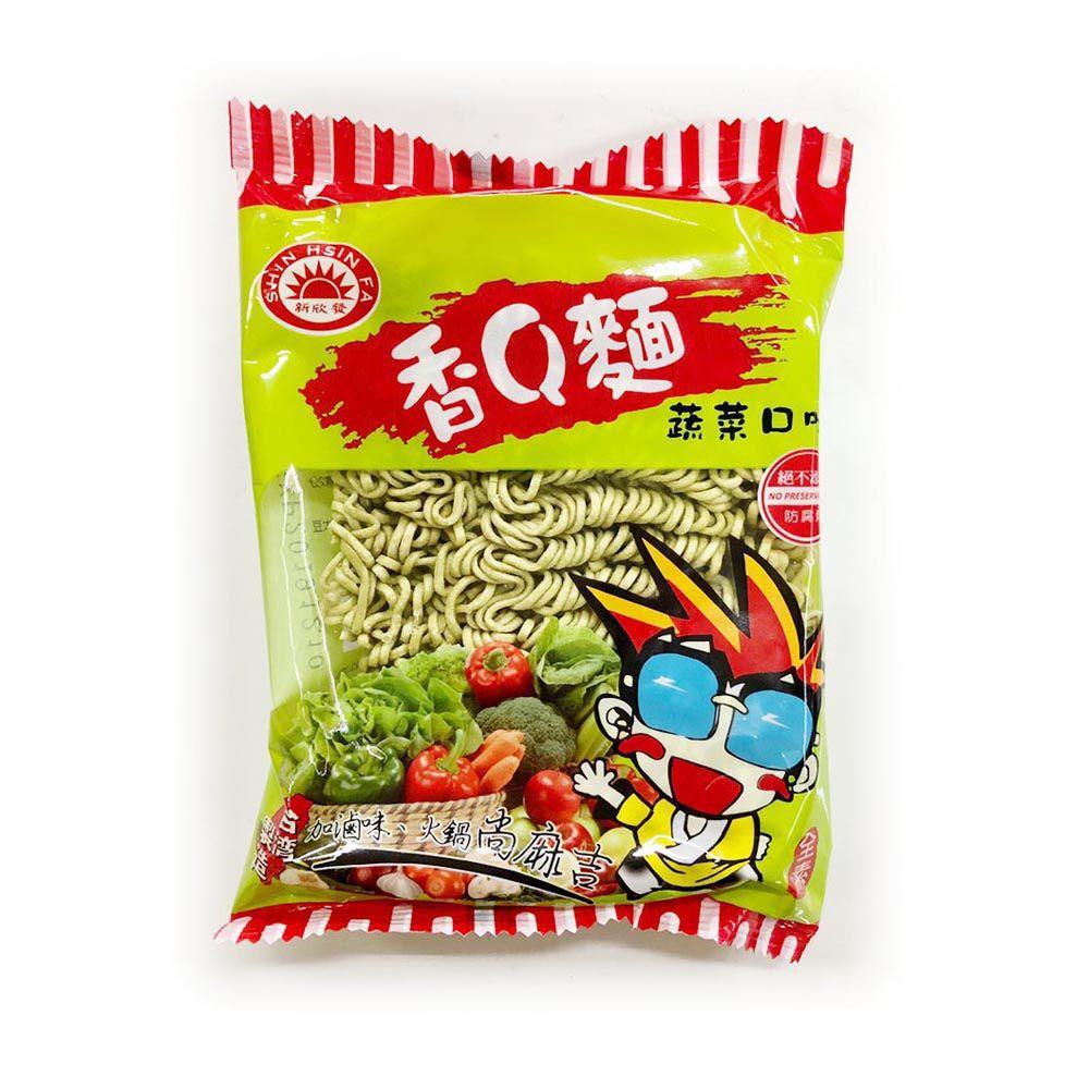 (東佑)香Q麵蔬菜80g(全素)