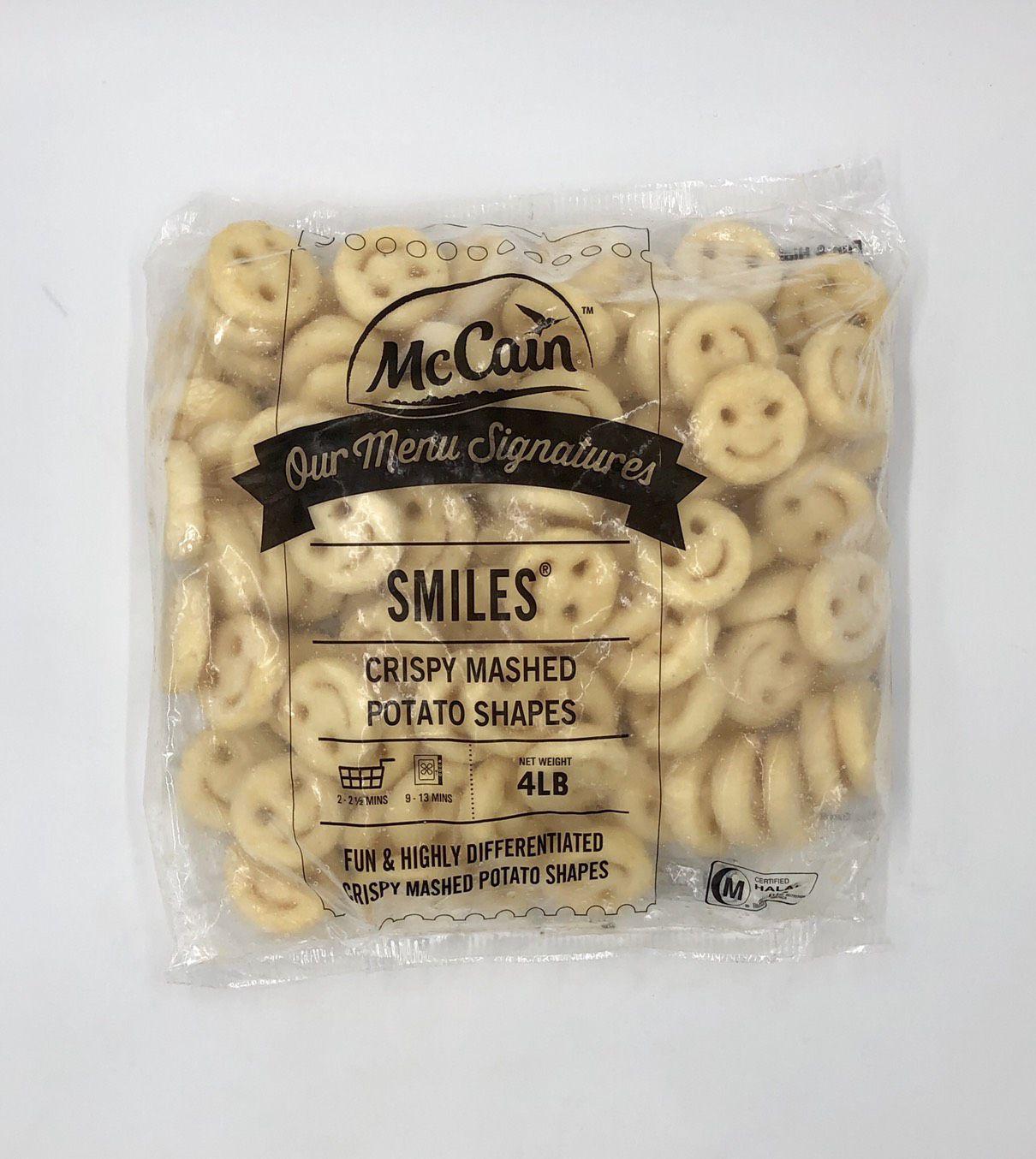(中歆)麥肯微笑薯餅1.8kg(全素)