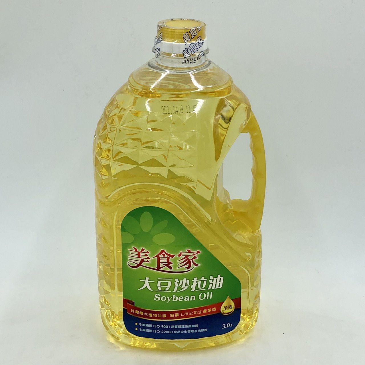 (美食家)沙拉油3L(全素)