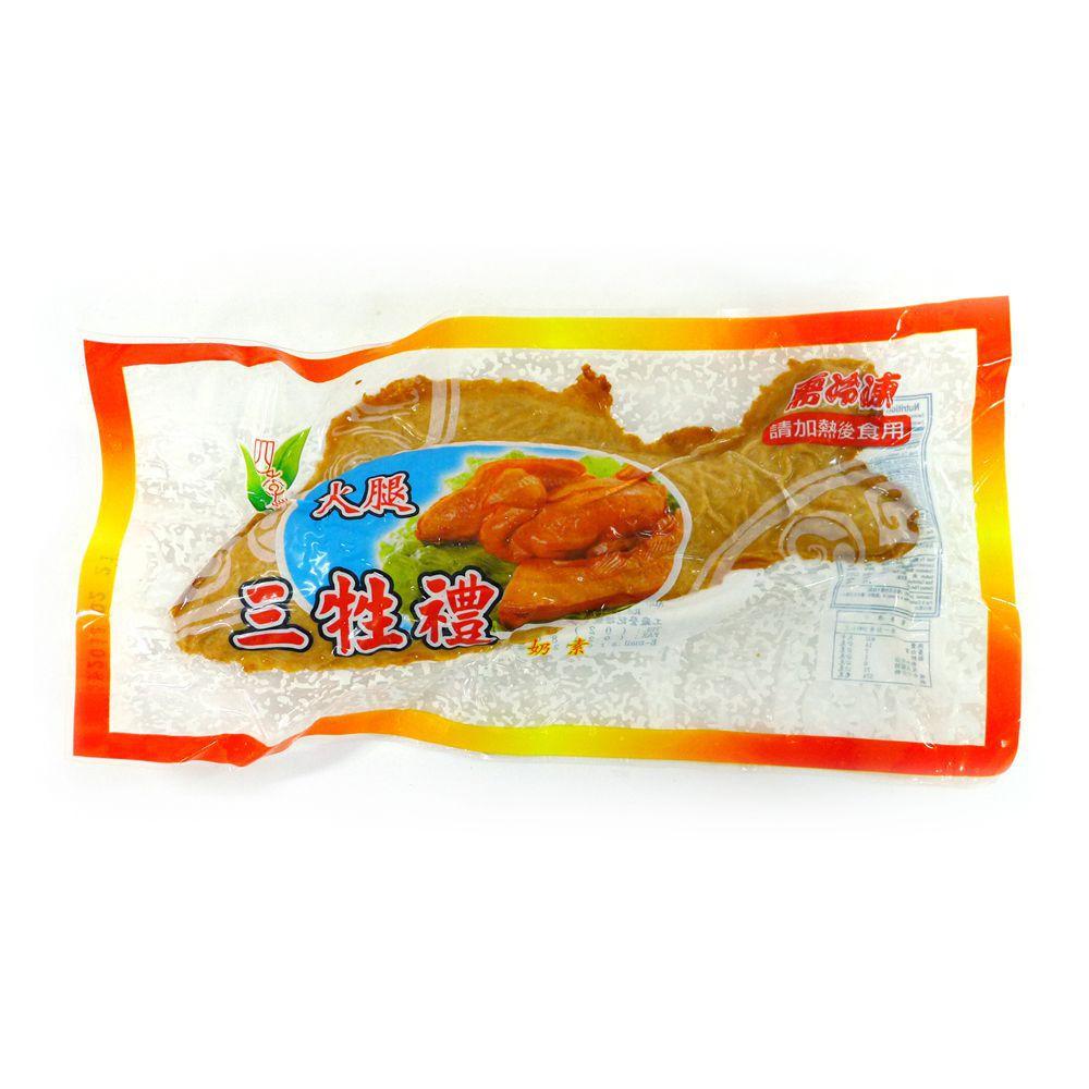 (四季齋)火腿三牲魚220g(奶素)