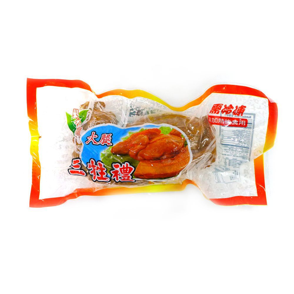 (四季齋)火腿三牲雞420g(奶素)