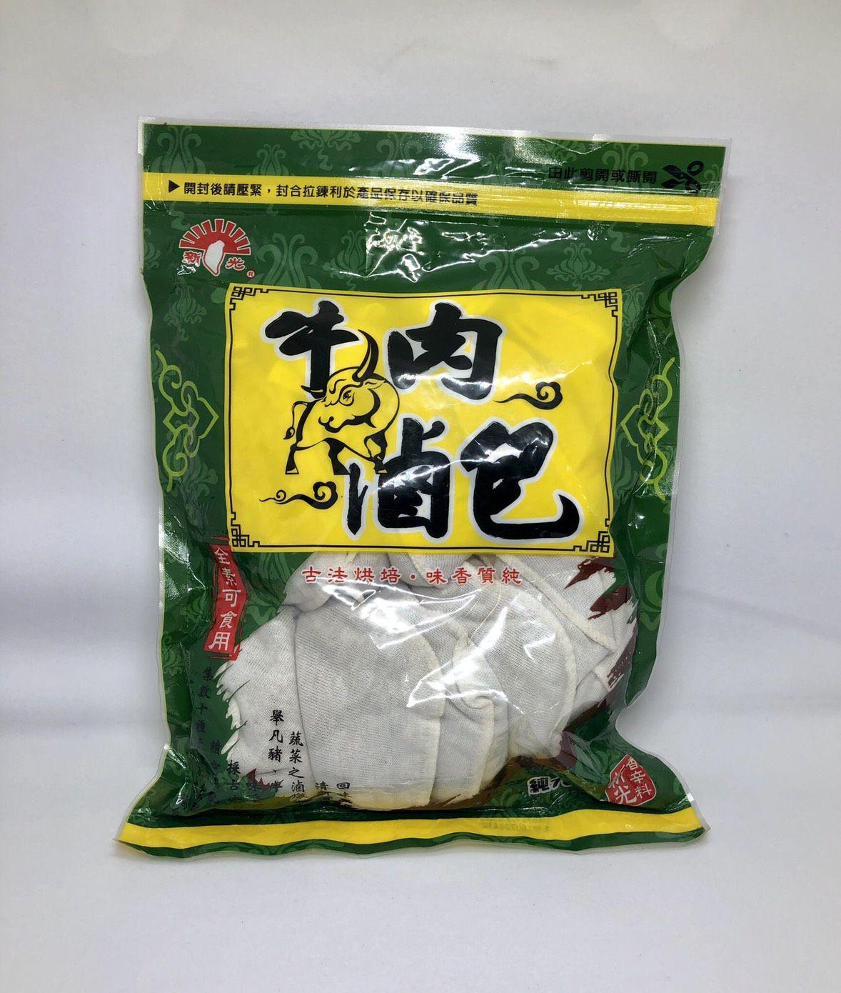 (新光)牛肉滷包10入(全素)