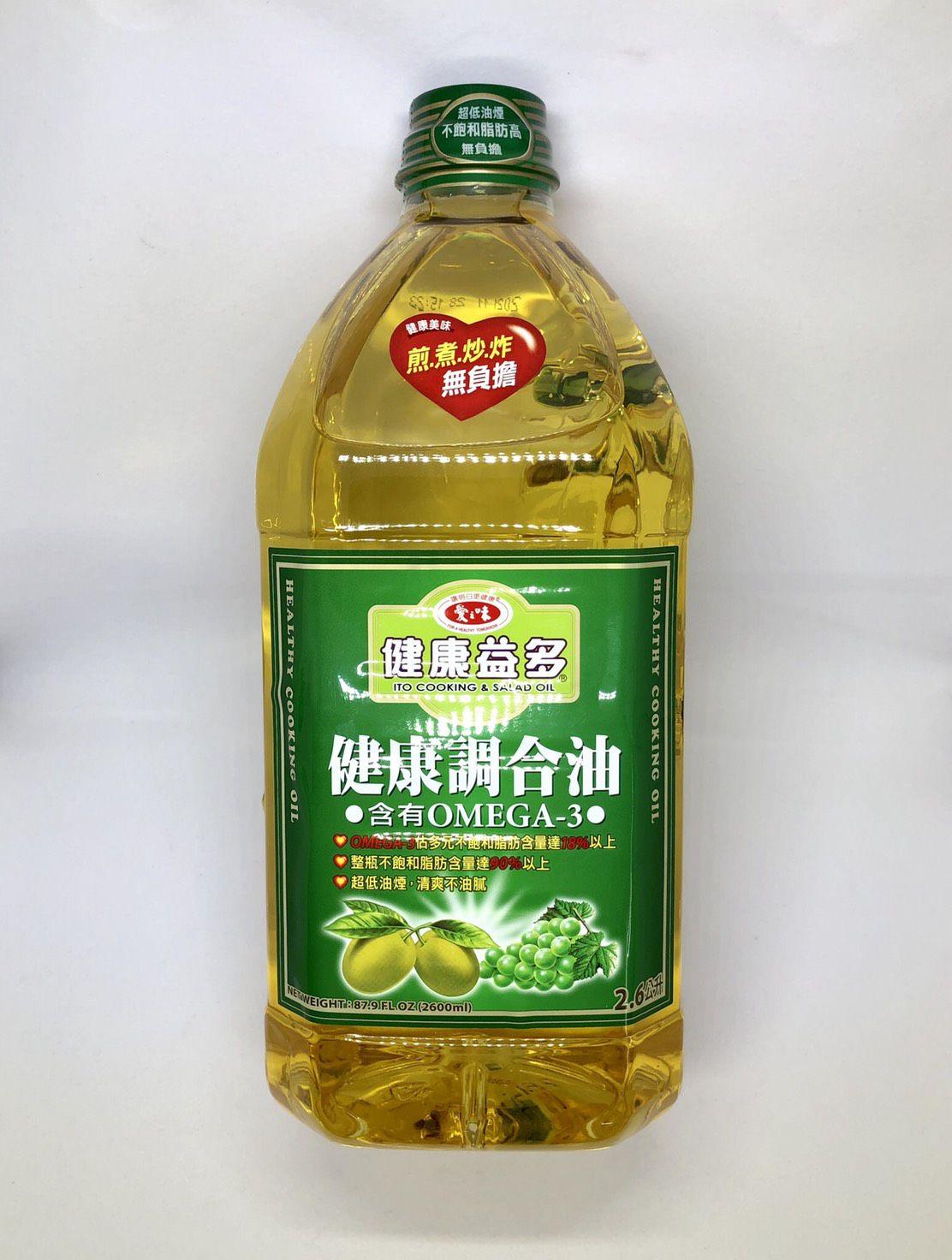 (愛之味)健康益多健康調和油2.6L(全素)
