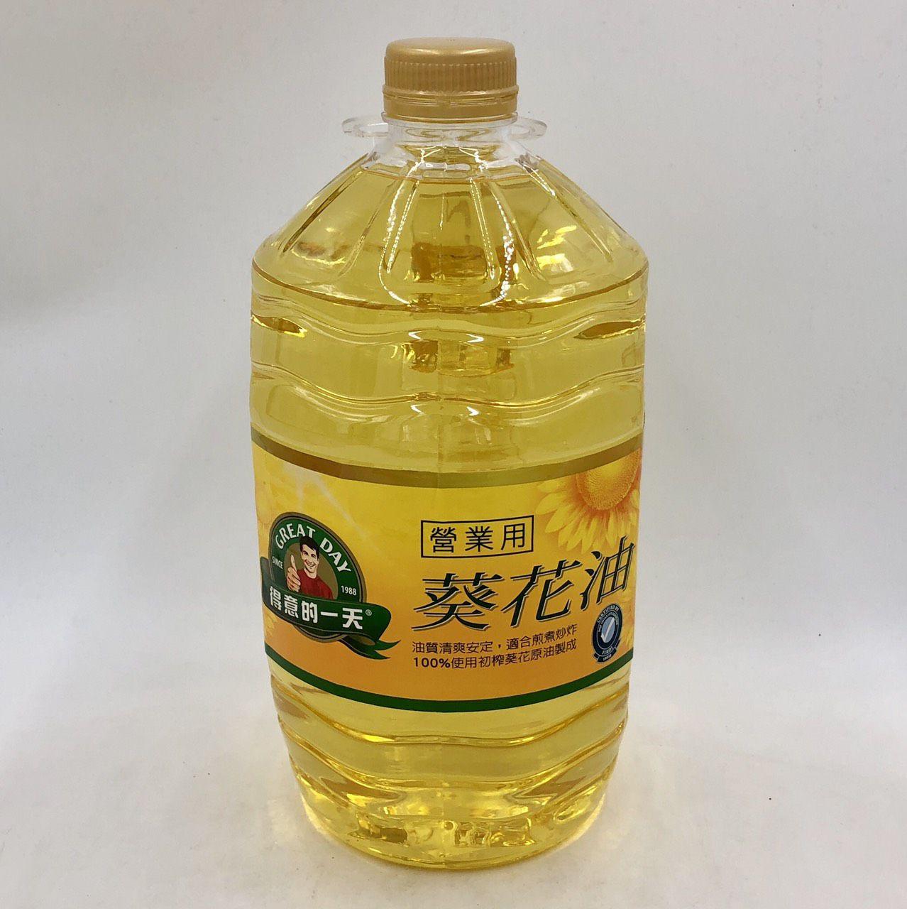 (桂格)得意的一天葵花油/業務用5L(全素)