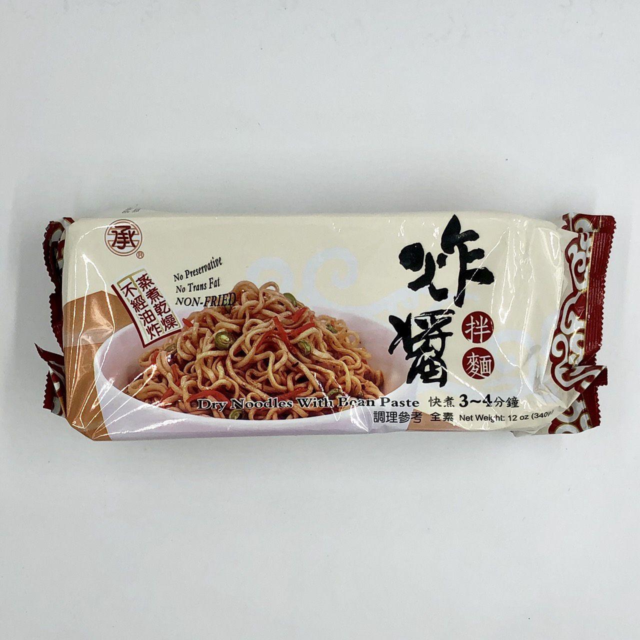 (承昌)炸醬拌麵340g(全素)