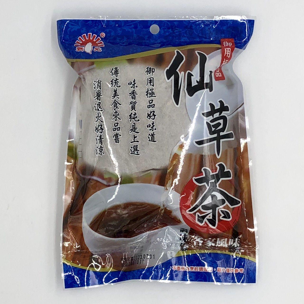 (新光)客家風味仙草茶調味包100g(全素)