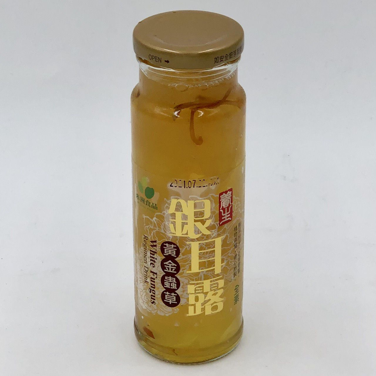 (米洲)黃金蟲草銀耳露230g(全素)