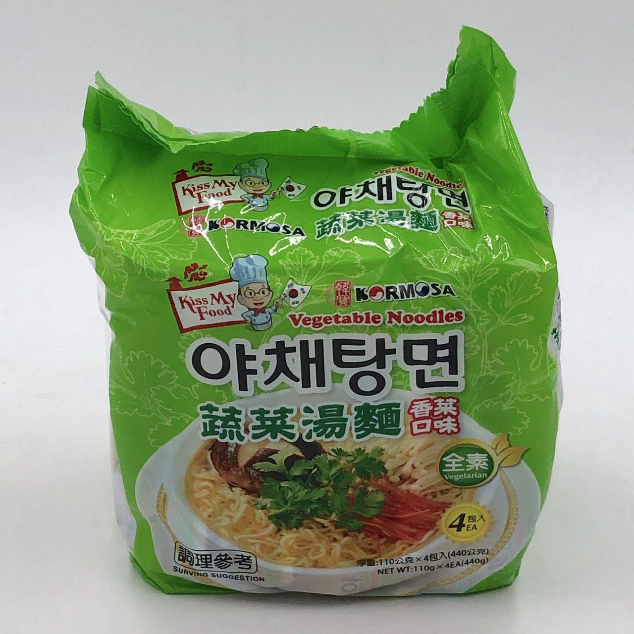 (韓寶)蔬菜湯麵/香菜口味440g(全素)