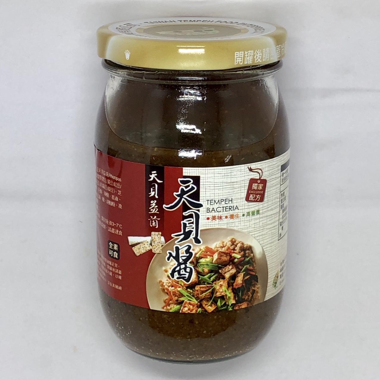 (台灣天貝)益菌天貝醬400ml(全素)