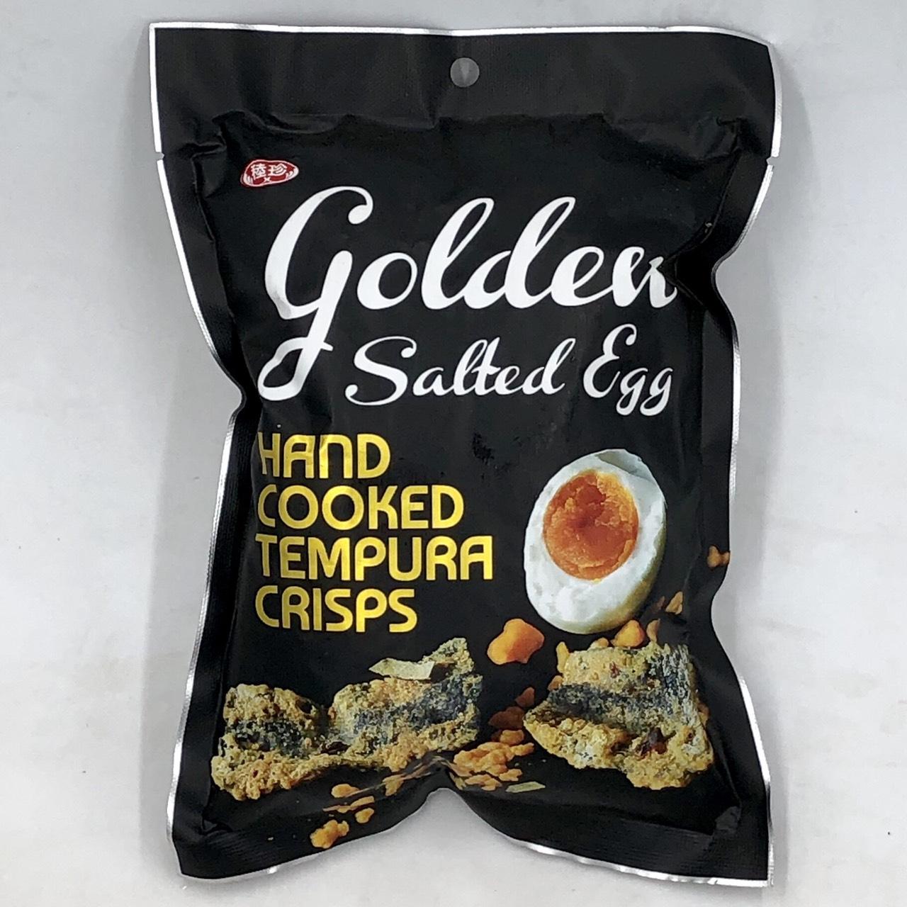 (稑珍)金鑽鹹蛋黃天婦羅35g(蛋素)