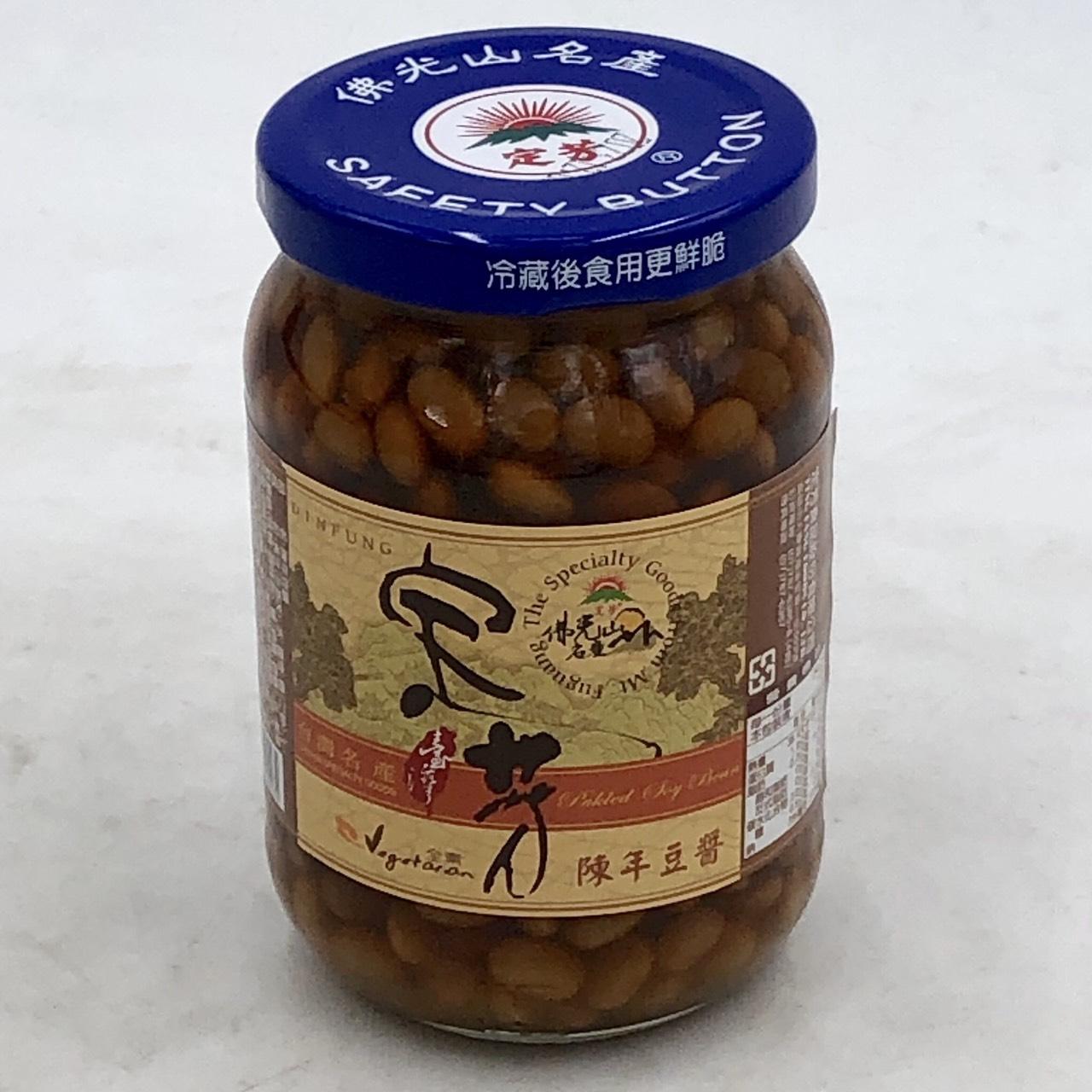 (定芳)陳年豆醬380g(全素)