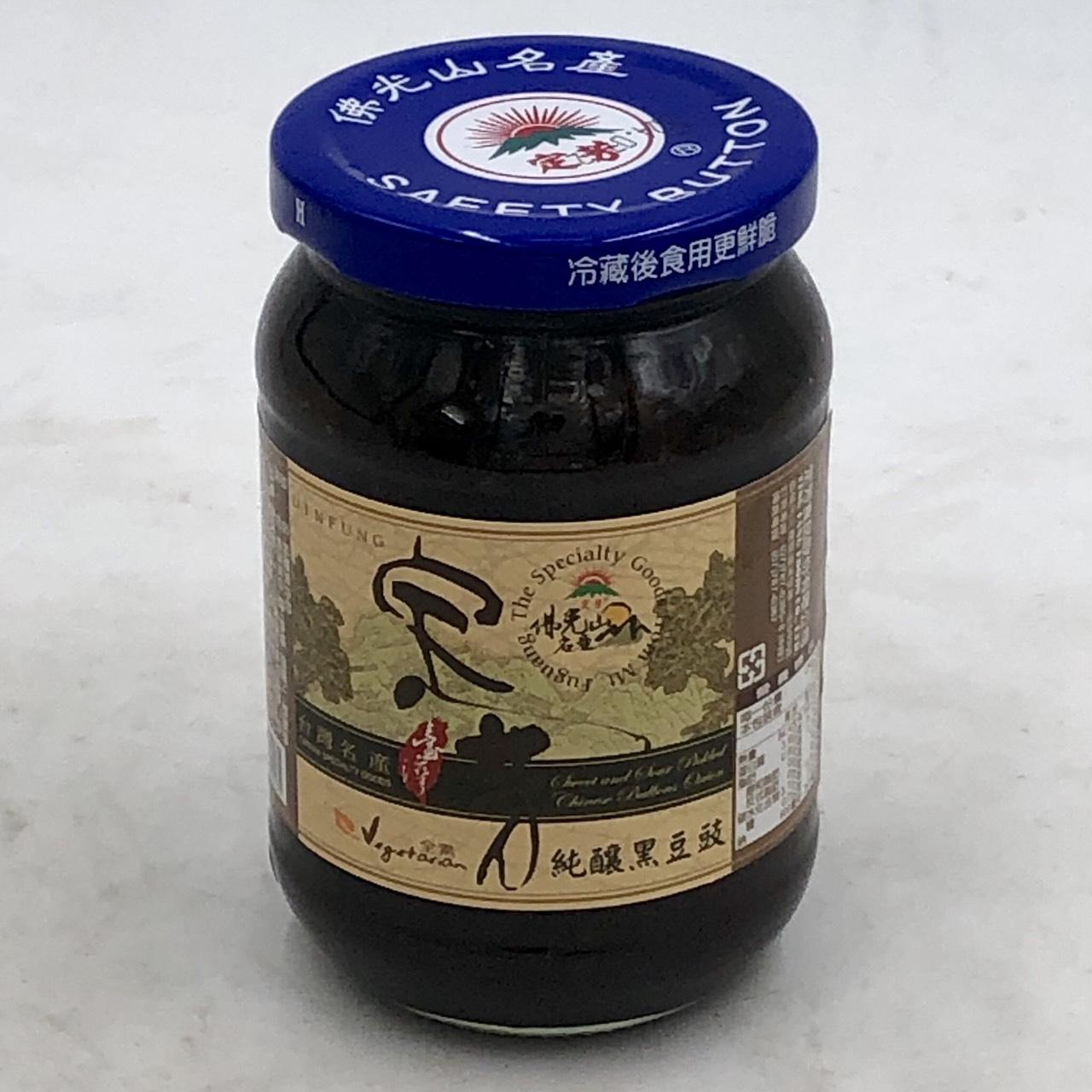 (定芳)純釀黑豆豉380g(全素)