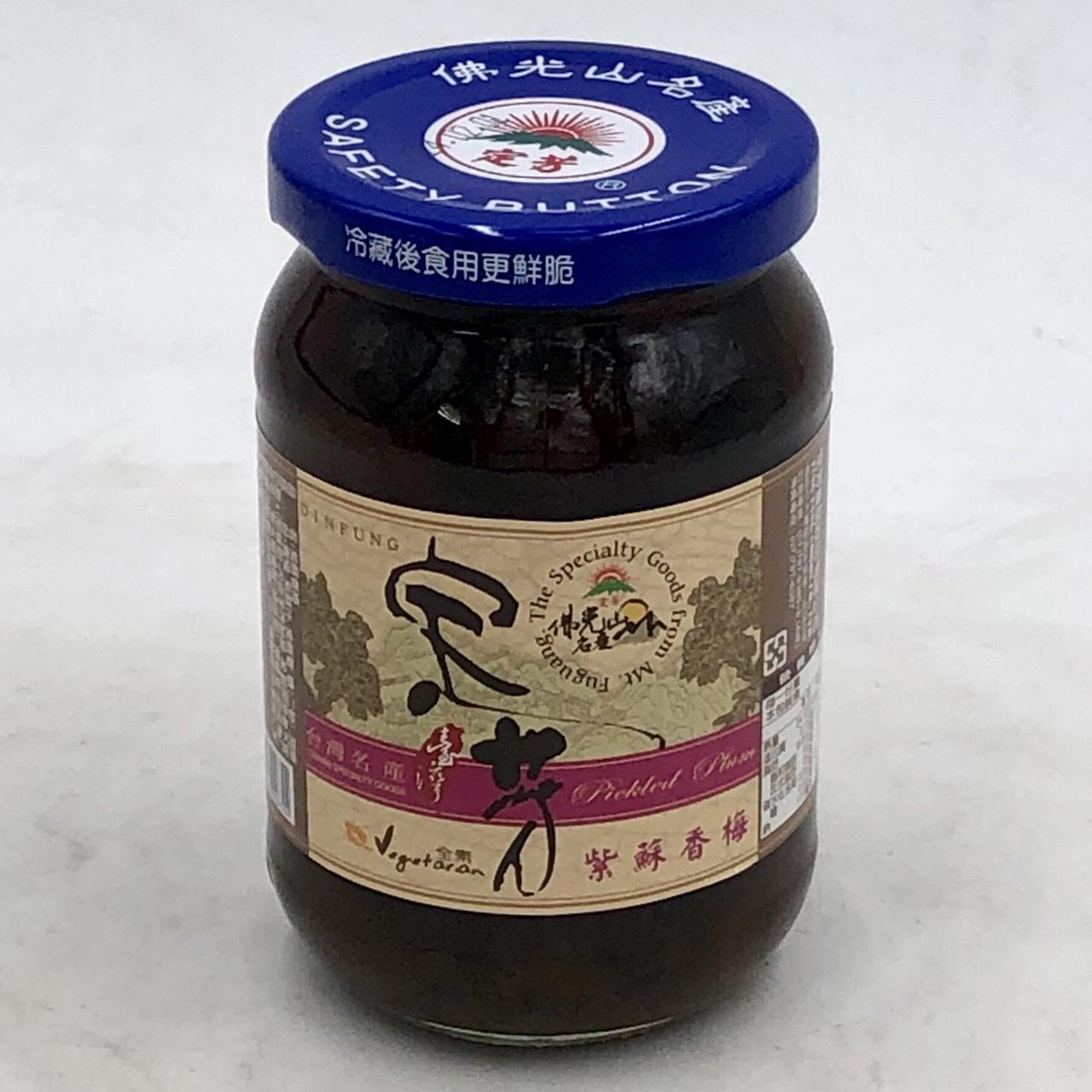 (定芳)紫蘇香梅380g(全素)